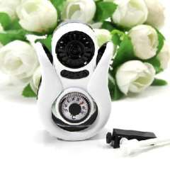 With thermometer car air conditioning air outlet perfume/perfume bottles
