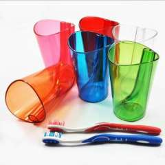 Multifunctional Colorful Two-in-one Wash Cup Shukoubei Belt Toothbrush Holder Cup Brush