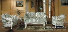 High-end European-style sofa | Fabric sofa | Wood sofa | living room sofa