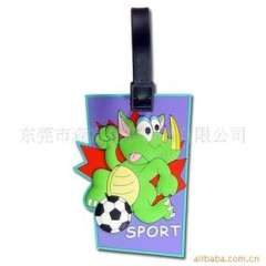 Excellent quality customized | silicone cartoon luggage tag | soft luggage tag / tag | tag luggage tag