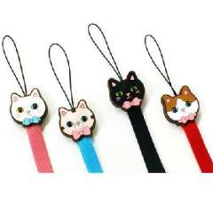 Korean version of the candy kitty series mobile phone lanyard | Color Random