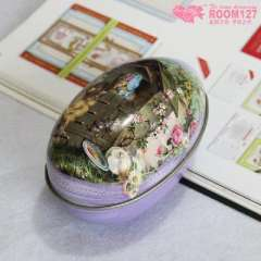 Large Easter Eggs | tin | metal box | candy boxes | hi egg cartons | Purple
