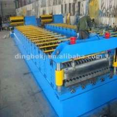 corrugated roll forming machine for metal