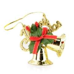 CHRISTMAS DECAL ORNAMENT XMAS BELL TREE DECORATION GIFT small bell