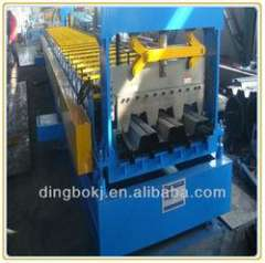 22kw main motor power metal deck roll forming machine with 5 ton decoiler