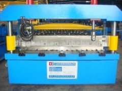 wave wall roll fomring machine