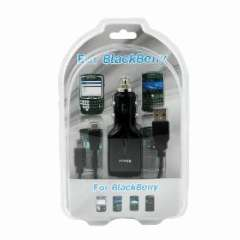 Blackberry car charger combo line