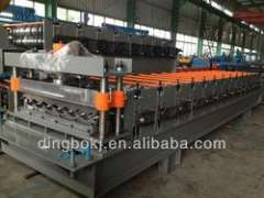 Metal Tile Cold Roll Forming Machine