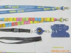 High-end professional custom lanyard | Sublimation green phone rope | badge lanyard | hanging neck rope documents, supply brand tape