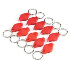 LED keychain | 10 a group of | Red