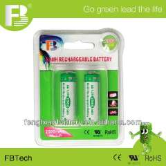NI-MH high capacity 1.2V AA 2500mAh rechargeable battery