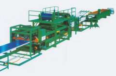 F Color Multifunction thermal insulation composite board production line