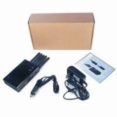 GPS Jammer | 5 Bands Handheld 3G Cell Phone Jammer, GPS Jammer, Wifi Jammer