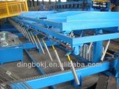 hydraulic stacker for metal sheet
