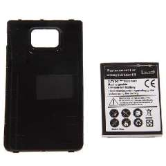 Samsung i9100 Galaxy SII replacement battery | Theoretical capacity 3500mAh | Actual capacity 2800mAh | With housing
