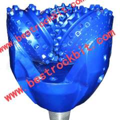 API Standard 8 1\2' IADC 537 Tricone Drill Bit With Tungsten Carbide For Water Well Drilling