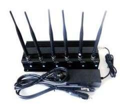 Signal jammer | 6 Bands VHF&UHF&Mobile&WiFi&GPS Jammer