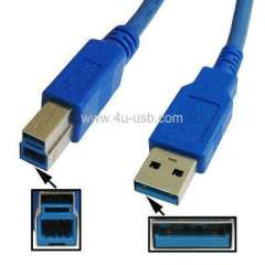 USB 3.0 AM to BM Cable, Length: 1.5M