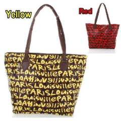 Letter bag | bag yellow letters
