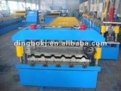Galvanized sheet roll forming machine