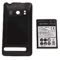 Spring HTC EVO 4G replacement battery | Theoretical capacity 3500mAh | Actual capacity 2800mAh | With housing