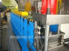 C shape steel profile roll forming machine