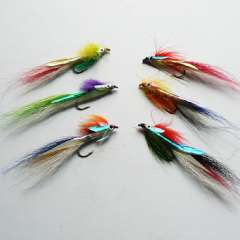 Free Shipping fly fishing bait fake lure 9pcs\bag various colors beautiful fly bait lure