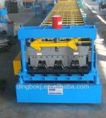galvanized steel roof sheet roll forming machine