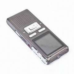 1.44-inch LCD Screen Audio Recorder with Metal Cover and Taking Video Function