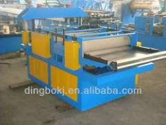 Down Pipe Cut to Length Slitting Line Machine with Rubber Main Shaft Material10m-15m\min