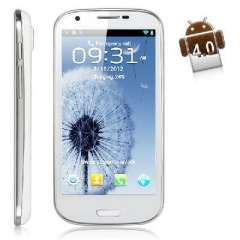 Fei Teng GT-i9300 4.7 inch 3G Android 4.0 | Smartphone | White