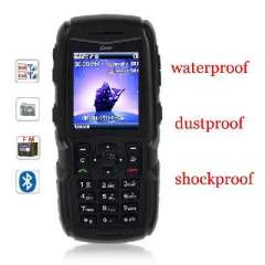 X9 2.0 inch | waterproof | Dust | Shock | 3 anti-mobile phone | Bar phone | Quad Band | MP3 / MP4 / WAP / Bluetooth / SMS / GPRS / JAVA / FM / TF card / Bluetooth