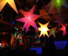 Wedding decoration\inflatable star