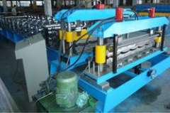 Tile panel roll forming machine