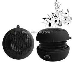 Hamburg Style Portable Mini Speaker, Built in Rechargeable Li-ion Battery
