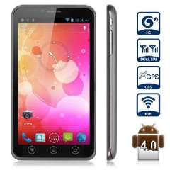 MTK6577 dual-core Note III 6.0 inch | Android 4.0 3G Smartphone
