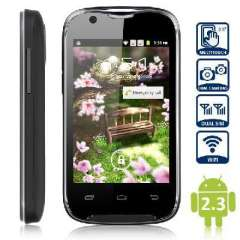 A109G 3.5 inch Android smartphone MTK6515 black