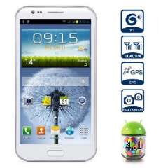 MTK6577 dual-core S7180 5.3 inch | Android 4.1 3G Smartphone