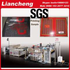 plastic sheet printing machine France Patented imported parts 130% efficiency screen printer