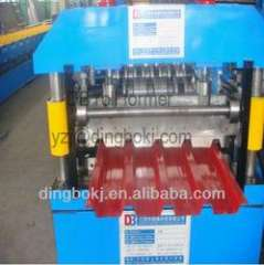 840 roofing sheets roll forming machinery with automatic stacker