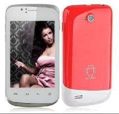 Android 2.3 Smartphone with 3.5 inch HVGA Screen Dual SIM SC6820 3MP Camera WiFi ramdon color