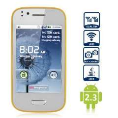 Fei Teng Mini N9300 3.5 inch Android 2.3 | Smartphone | Yellow