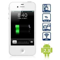 4S Andrews W009 3.5 inch Android smartphone | White