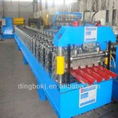 color steel roof sheet making machine