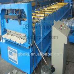 colored steel corrugated roll forming machine