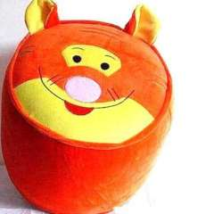 Tiger inflatable stool