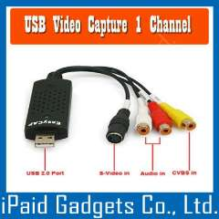 USB 2.0 Easycap Dc60 Tv Dvd Vhs Video Adapter Capture Card Audio AV Capture