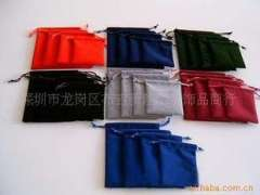 Supply of flannel bags, flannel cell phone pocket, cell phone flannel bags