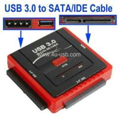 USB 3.0 to SATA Cable, USB 3.0 to IDE Cable