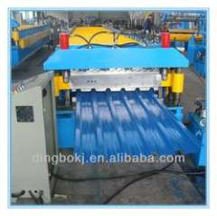 5.5KW double layer roll forming machine with automatic stacker